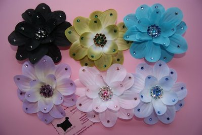 ♥ SILK FLOWER ANYWHERE CLIP