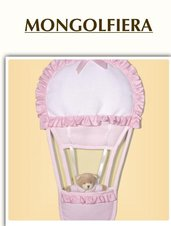 """FIOCCO NASCITA """" MONGOLFIERA"""""""