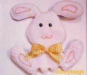Coniglietto bambini in feltro handmade♥