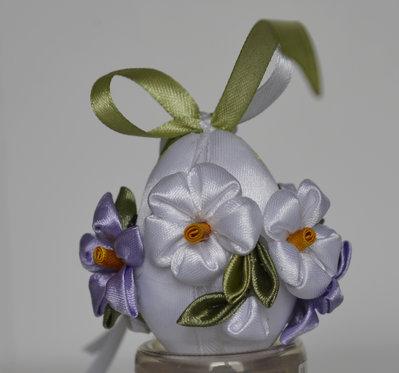 Uovo di Pasqua kanzashi piccolo