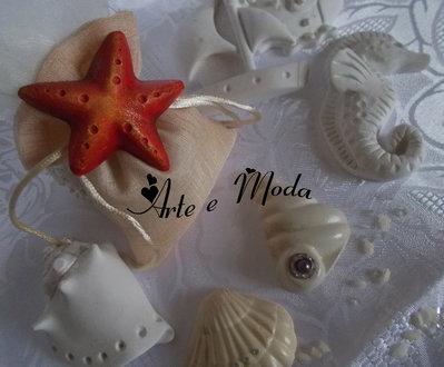 "Bomboniera matrimonio ""Stella marina"""