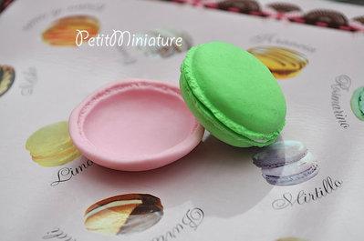 STAMPO MACARON 4cm ST027 stampo silicone flessibile kawaii charm fimo sapone resina gesso parigi ladurèe miniature gioielli