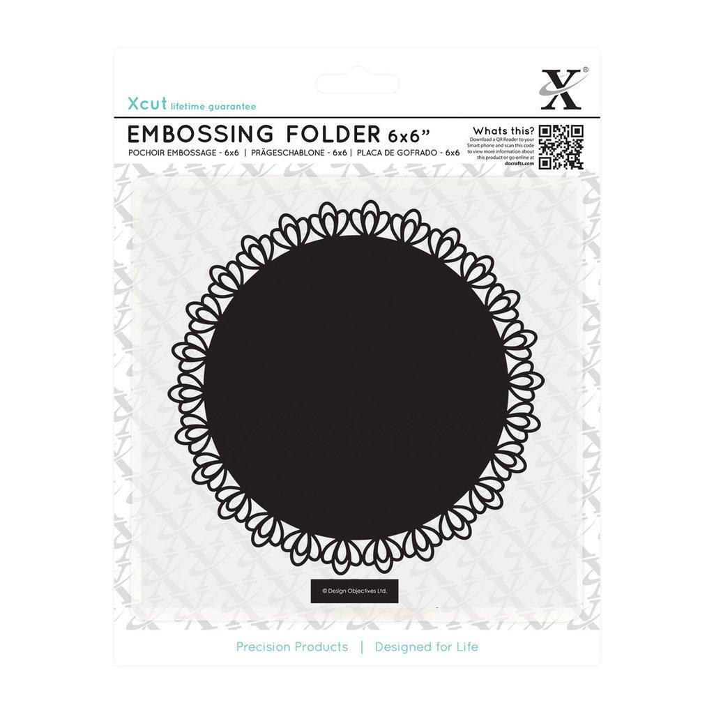 Fustella per embossing 15x15 cm - Filigree Circle
