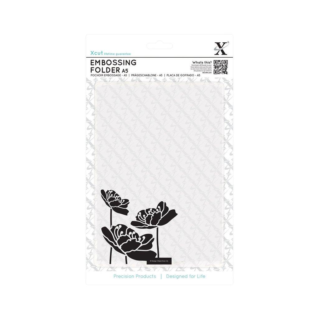 Fustella per embossing A5 - Large Blossom