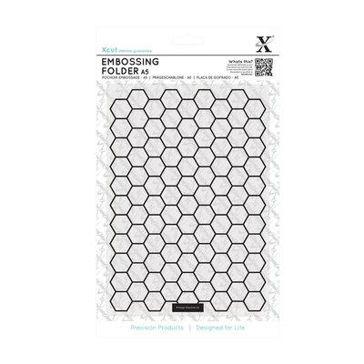 Fustella per embossing A5 - Honeycomb