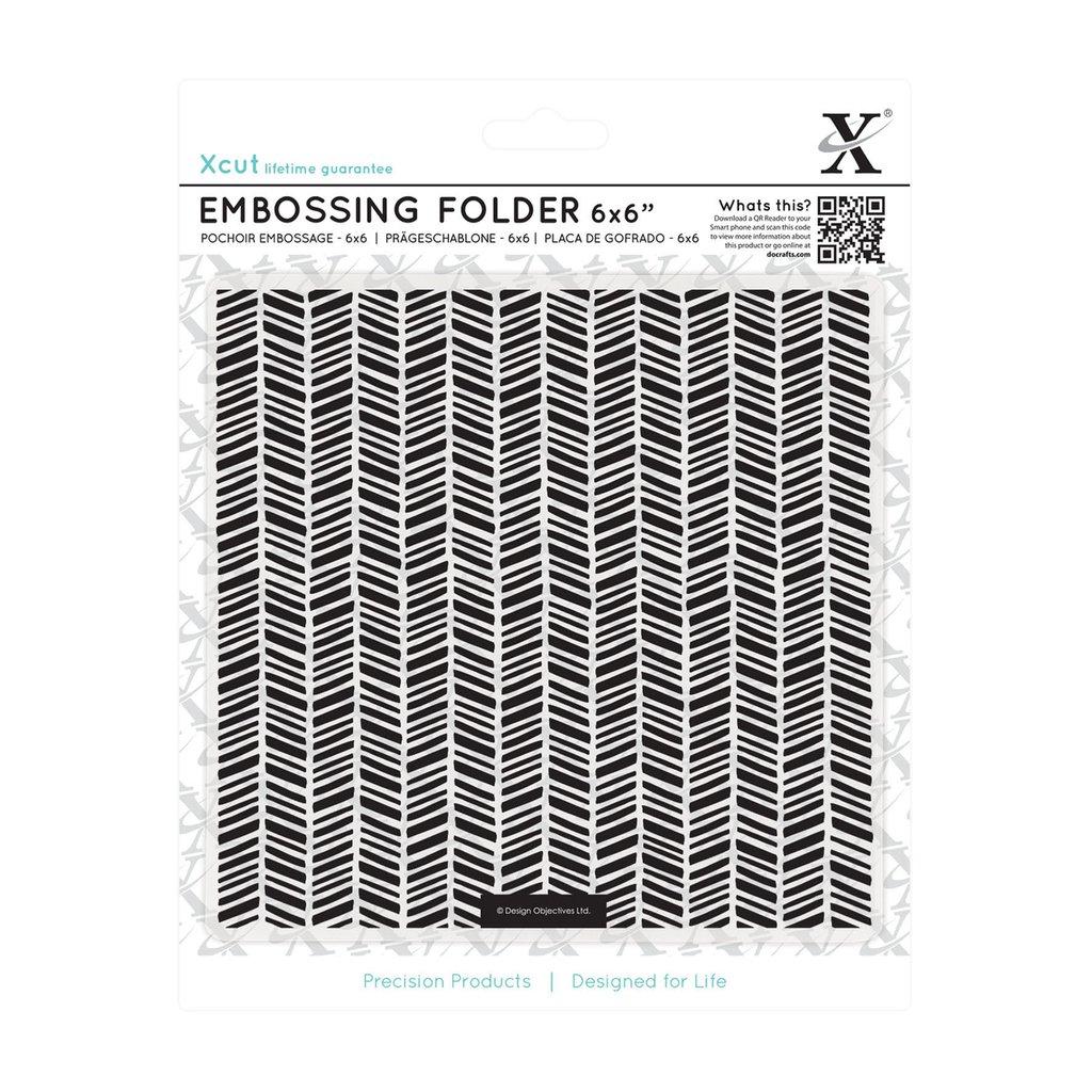 Fustella per embossing - Herringbone Pattern