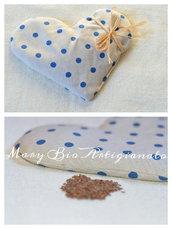 Cuscino scaldasonno semi di lino termoterapia naturale idea regalo compleanno