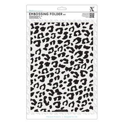 Fustella per embossing A4 - Leopard Print