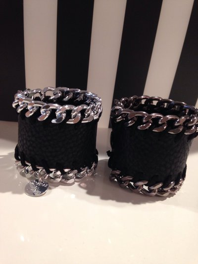 Bracciale Leather Chained