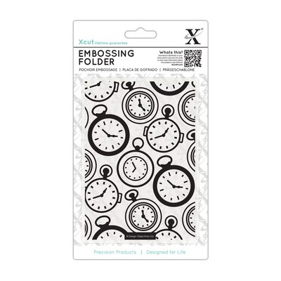 Fustella per embossing A6 - Pocket Watch
