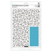 Fustella per embossing A4 - Delicate Flourishes