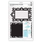 Fustella per embossing A4 - Ornate Frame