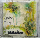 Quadro Mixed Media Canvas