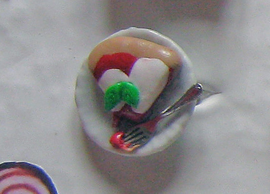 Anello PIATTO DI PIZZA