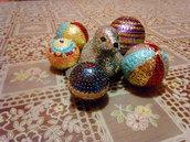 Foca decorata con paillettes