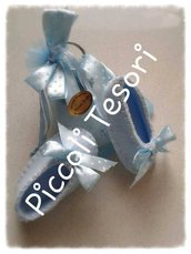 Bomboniera nascita/battesimo - Scarpetta portachiavi-