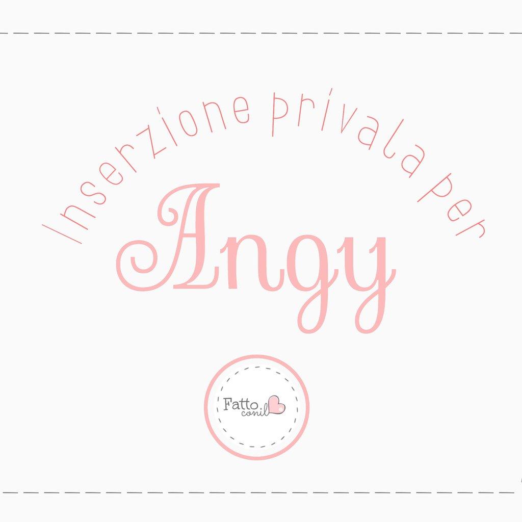 Inserzione privata per Angy