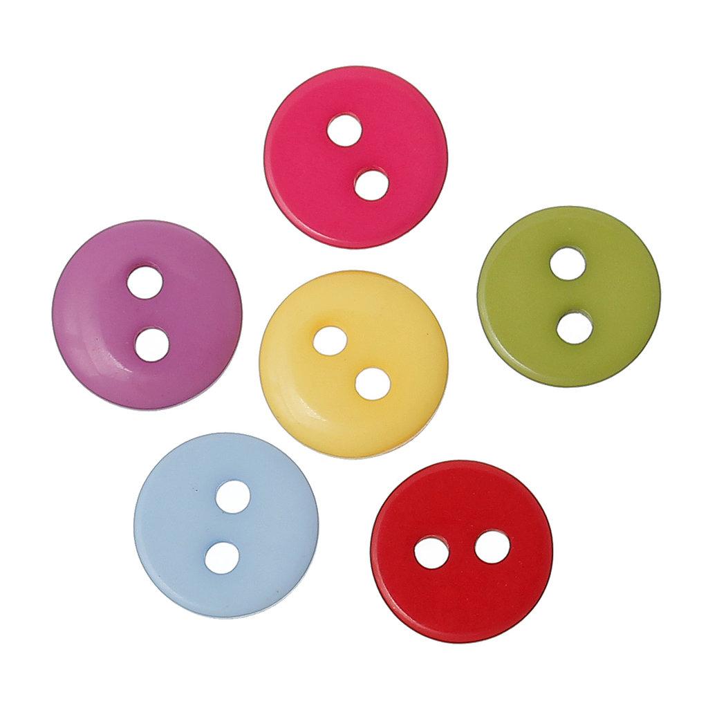 Mix 50 bottoni - 9 mm