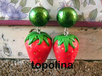 orecchini fragolone (x greta)