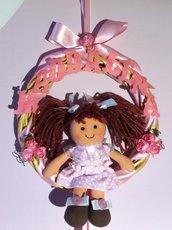 Fiocco nascita my doll con nome