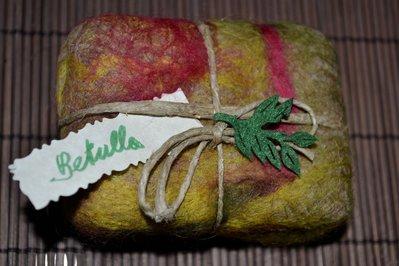 SAPONE NATURALE INFELTRITO - BETULLA
