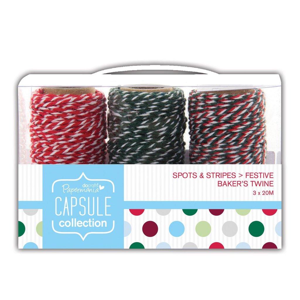 Bakers Twine - Spots & Stripes Festive