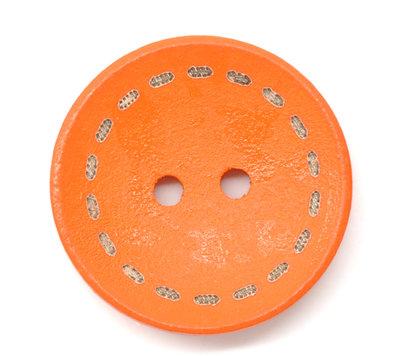 Set 10 bottoni 25 mm - Arancio