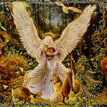 Lady Of The Woods - Schema Punto Croce - Heaven and Earth Design