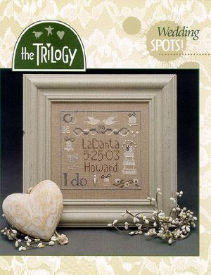 Wedding Spots! - Schema Punto Croce Matrimonio - The Trilogy