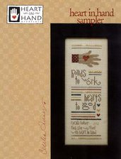 Heart In Hand Sampler - Schema Punto Croce - Heart in Hand
