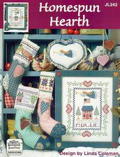 Homespun Hearth - Schema Punto Croce Country - Jeremiah Junction