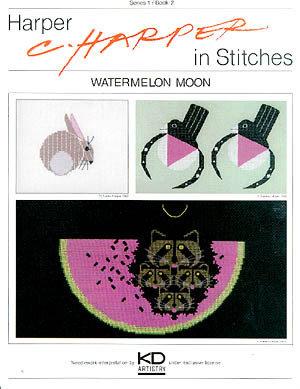 Watermelon Moon - Schema Punto Croce C. Harper - Puckerbrush