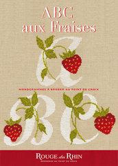 ABC aux Fraises - Alfabeto Con Fragole - Schema Punto Croce - Rouge du Rhein