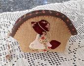 trousse -borsellino bambolina Sue con il cuore