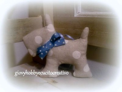 Cagnolino Scotty dog
