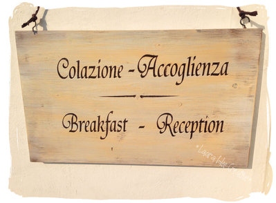 Cartelli in legno per agriturismo, hotel e strutture ricettive