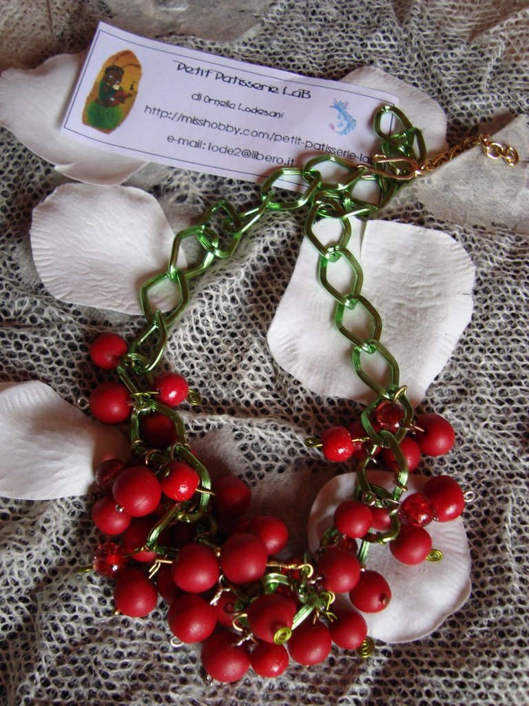"Collana ""Ribes Rossi"""