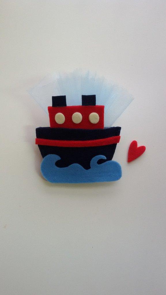 bomboniera forma di nave