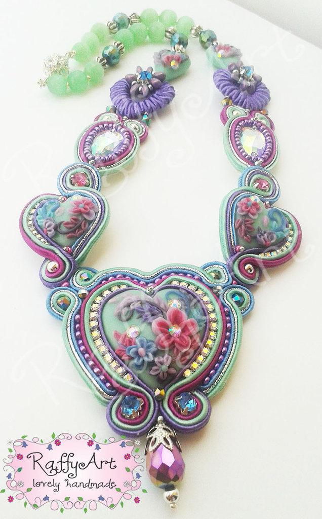 "Collana ""Flowery Hearts"""