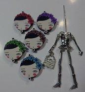 Kit di Bambola Gioiello da Creare - Scegli il colore che desideri - IN PRIMAVERA