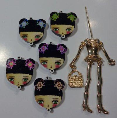 Kit di Bambola Gioiello da Creare - Scegli il colore che desideri - DAL GIAPPONE