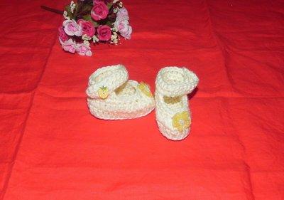 SCARPETTE SCARPINE bebè FATTE A MANO pura lana 0-3 mesi
