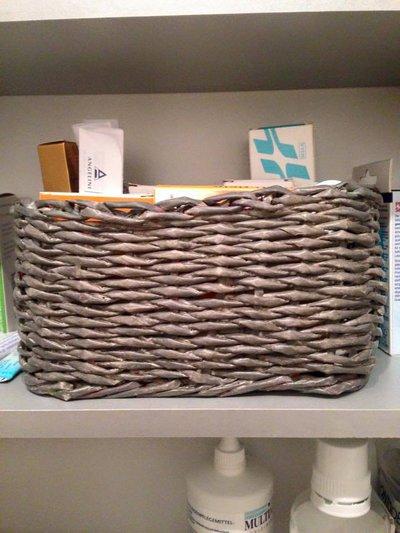 cesta di carta