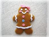 Biscotto allo zenzero di Natale - Sig pan di zenzero,mrs ginger bread