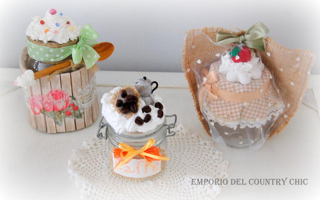Barattoli da cucina decorati per la casa e per te cucina di p su misshobby - Barattoli pasta cucina ...