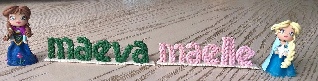 Offerta riservata a salandinimarina - Anna ed Elsa con nomi