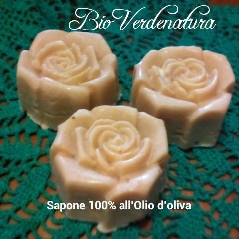 sapone naturale 100% all' olio d'oliva