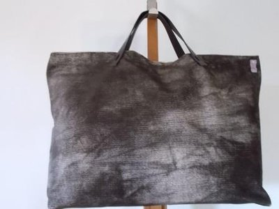 "Borsa ""Tote Bag"" marrone melange"