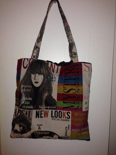 mini shopper cotone linea Magazine