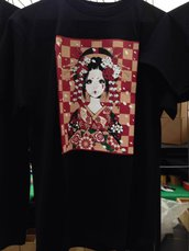 T-shirt Giapponese, Maiko